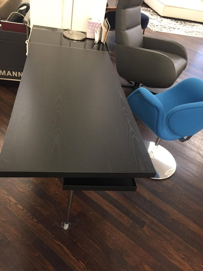 Set of Two Tecta Marcel Breuer Classic M45 Desk For Sale 4
