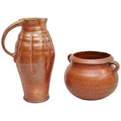 Set of Two Traditional Spanish Ceramics