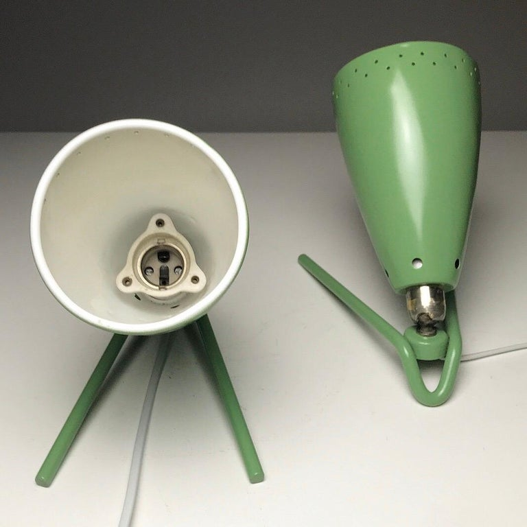 Dutch Set of Two Wall Light by Louis Kalff for Philips, Nederland, 1950s