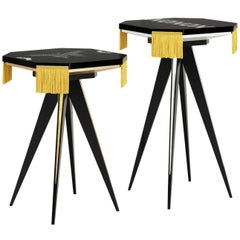 Set of Two XO Small Tables
