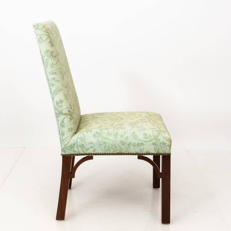 Set of Upholstered Dining Chairs For Sale 5