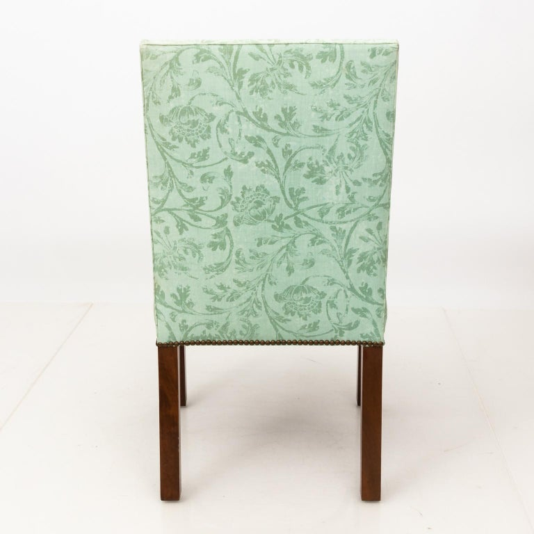 Set of Upholstered Dining Chairs For Sale 6