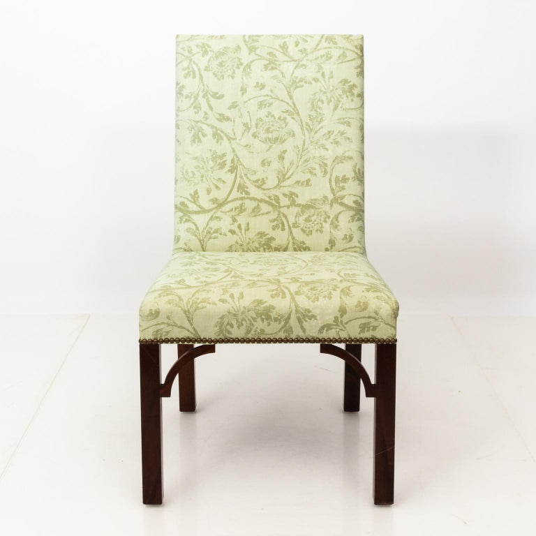 Set of Upholstered Dining Chairs For Sale 7