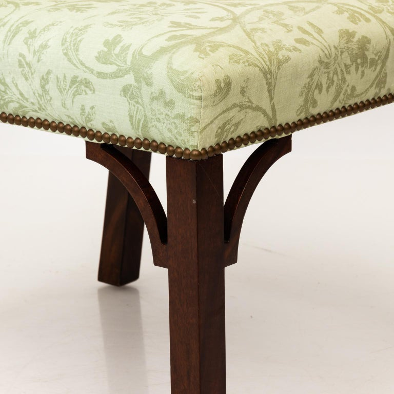 Set of Upholstered Dining Chairs For Sale 10