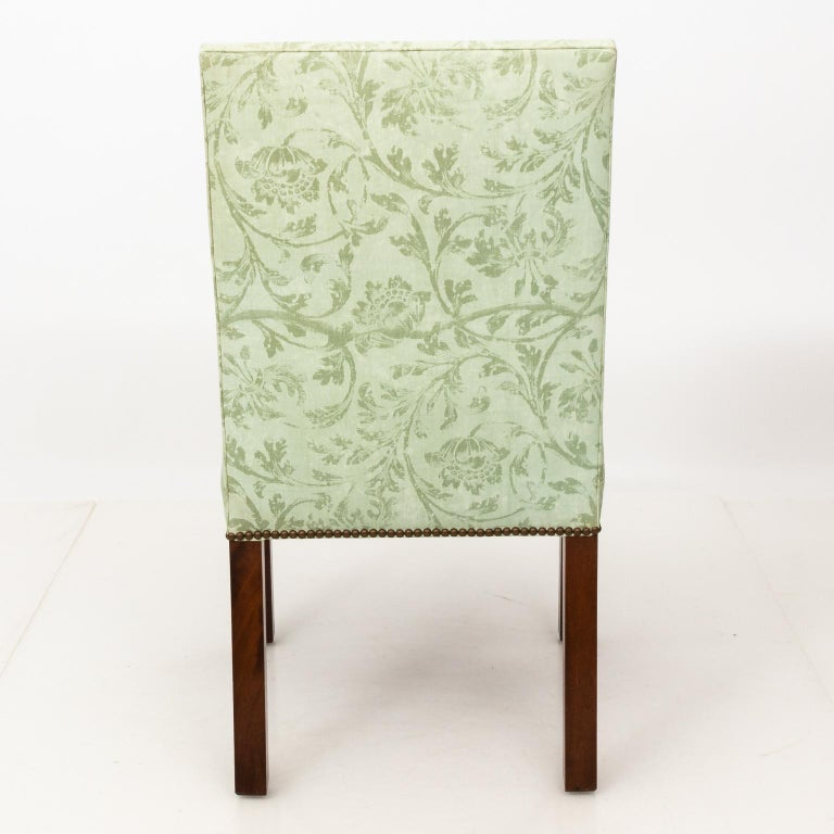 Set of Upholstered Dining Chairs For Sale 12