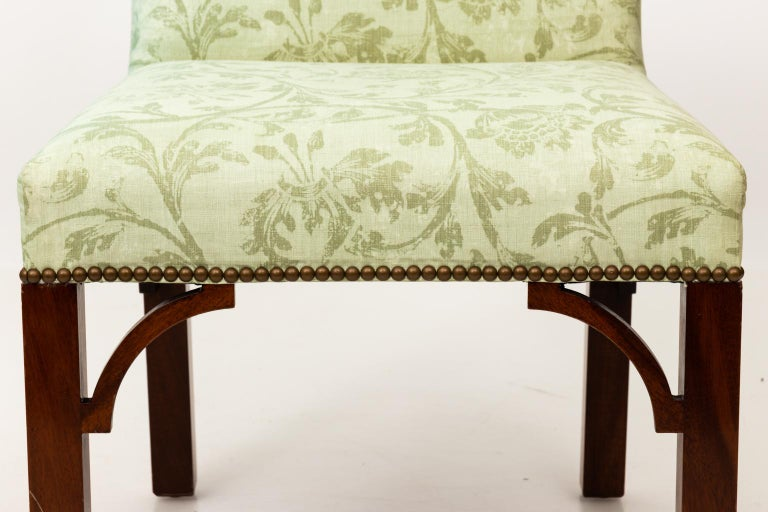 Set of Upholstered Dining Chairs For Sale 15