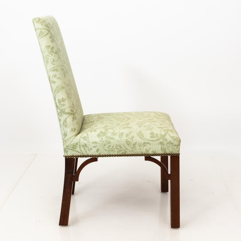 20th Century Set of Upholstered Dining Chairs For Sale