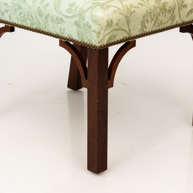Set of Upholstered Dining Chairs For Sale 4