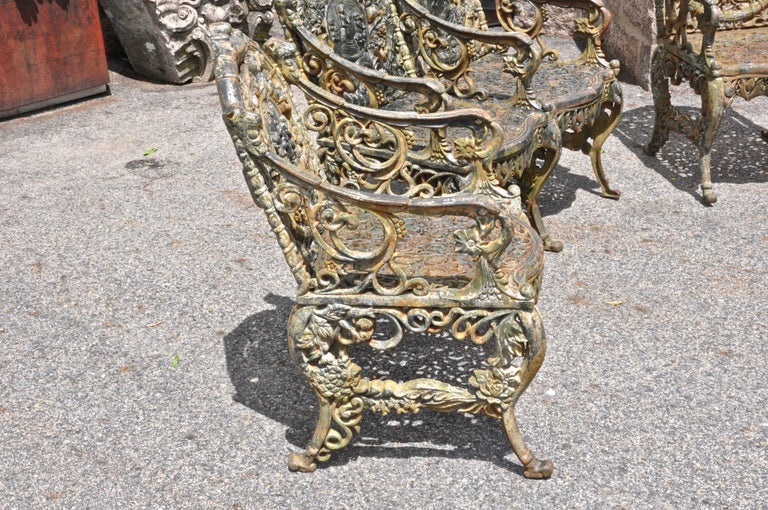 Early Victorian Set of Victorian Cast Iron