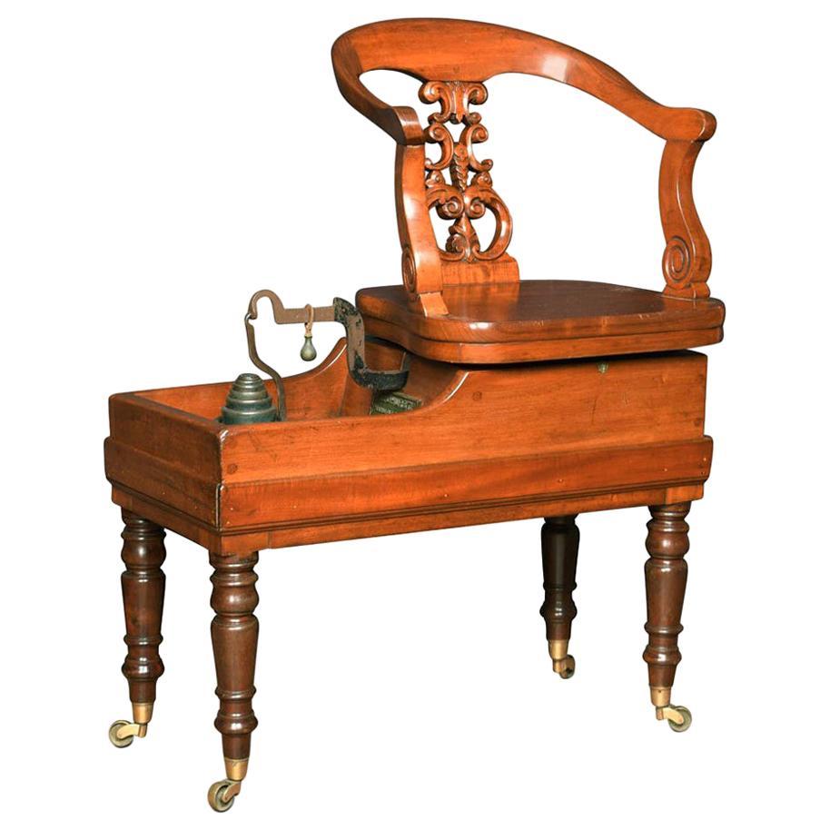Set of Victorian Mahogany Jockey Scales