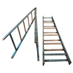 Set of Vintage Display Ladders, circa 1950s