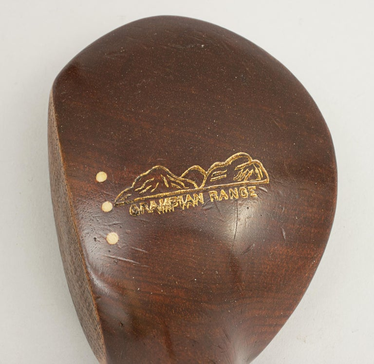 Early 20th Century Set of Vintage Golf Clubs by Gibson of Kinghorn, Scotland For Sale