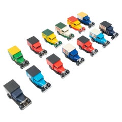 Set of Vintage Matchbox Toy Cars, circa 1960