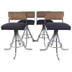 Set of Vintage Modern Barstools
