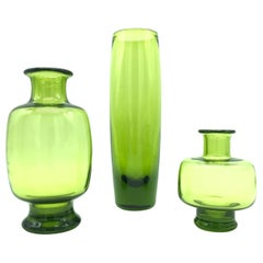 Set of Vintage Royal Copenhagen Glass Designed by Per Lutken for Holmegaard