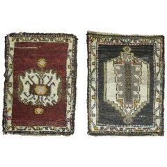Set of Vintage Turkish Anatolian Rugs