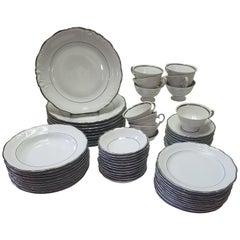 Set of Walbrzych Dinnerware, 66 Pieces