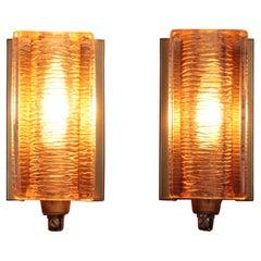 Set of Wall Lamps Model Atlanta Made by Vitrika Denmark