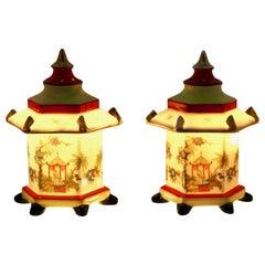 Set of Perfume Lamps/Air Purifier/Stampt Gerold & Co. Tettau Bavaria circa 1930s