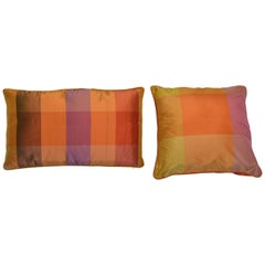 Set Silk Large Elegant and Modern Italian Pillows