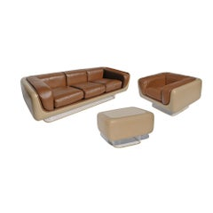 William Andrus Set of Steelcase #465 Soft Seating Series