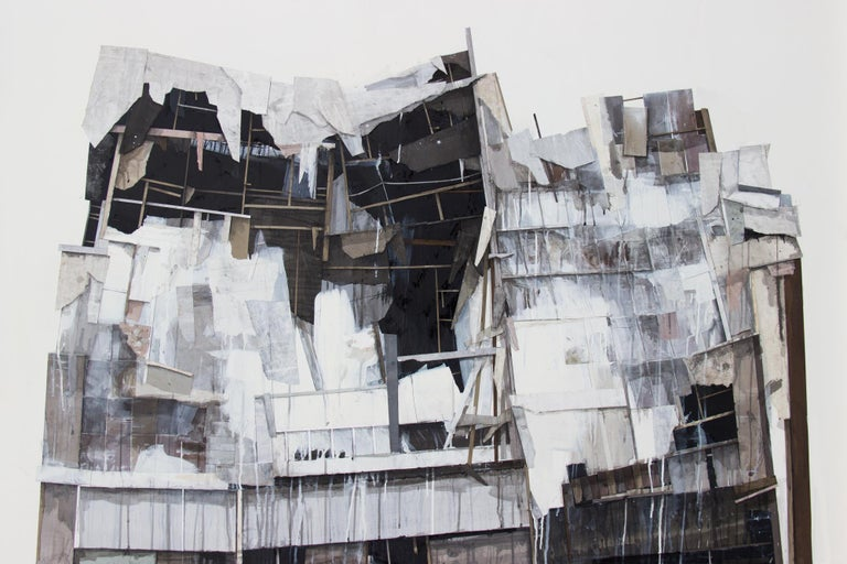 Seth Clark Abstract Painting - Pile VIII