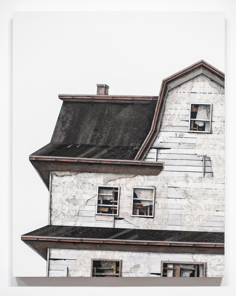 House Studies Series V - Painting by Seth Clark