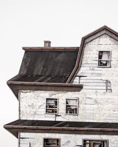 """House Studies Series V"", Layered Paper and Drawing Collage, Architectural"
