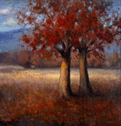 """""""Life Transitions of Fall"""" Oil Painting"""