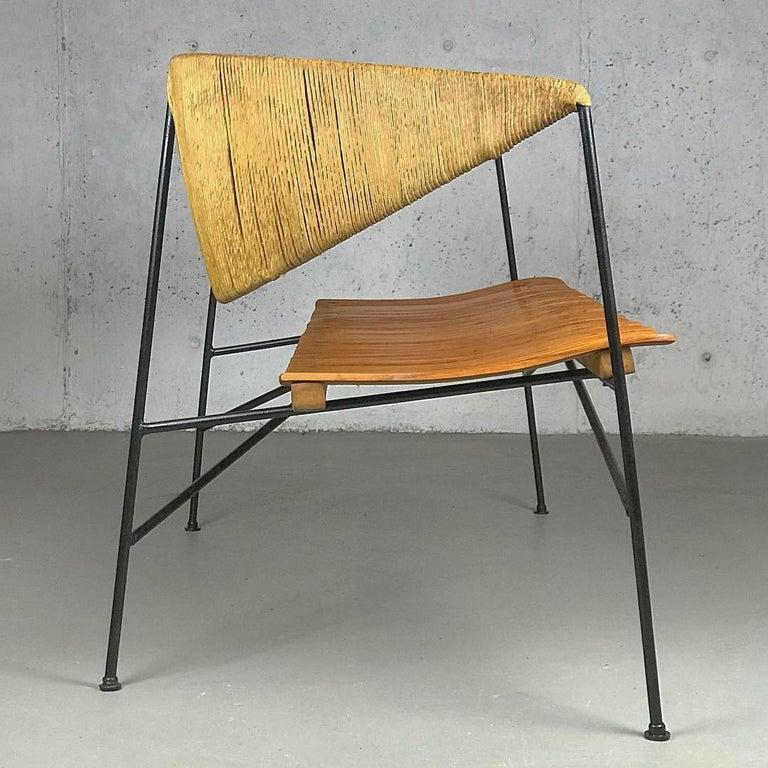 Mid-Century Modern Settee Bench by Arthur Umanoff for Shaver Howard & Raymor For Sale