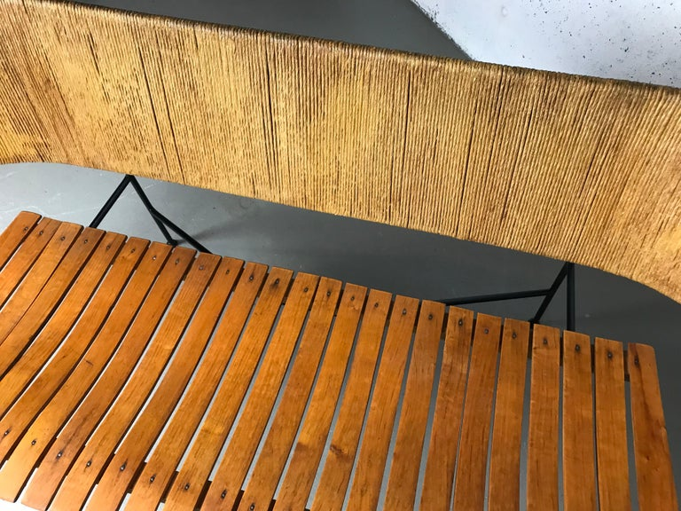 Mid-20th Century Settee Bench by Arthur Umanoff for Shaver Howard & Raymor For Sale