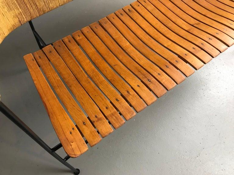 Settee Bench by Arthur Umanoff for Shaver Howard & Raymor For Sale 1