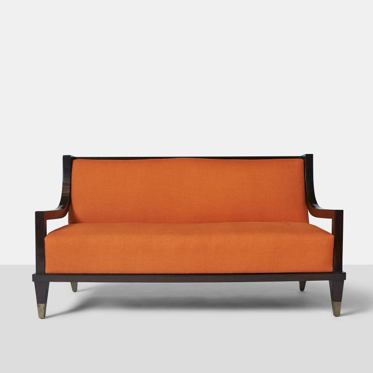 Mexican Settee by Mito Block Brothers For Sale