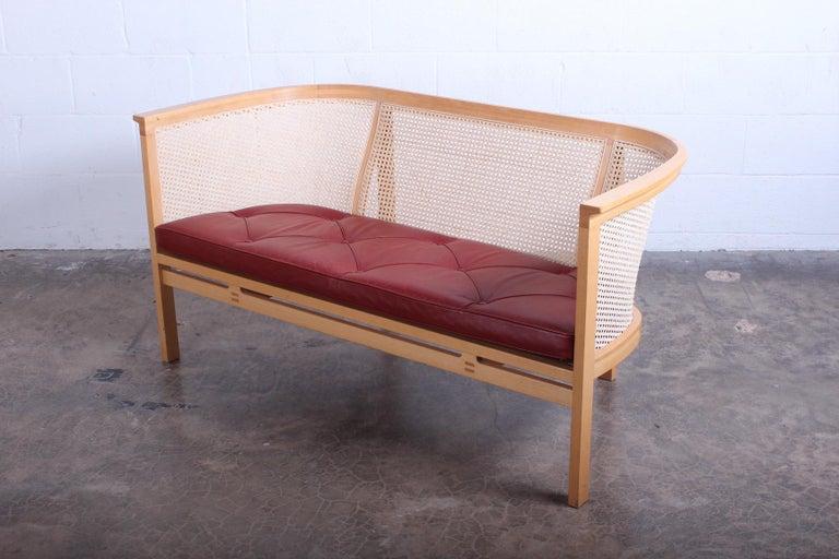 Settee model 7702 designed by Rud Thygesen & Johnny Sorensen for Botium.