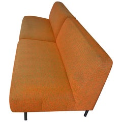 Settees, Pair, Midcentury, from Midwestern Frank Lloyd Wright Designed House