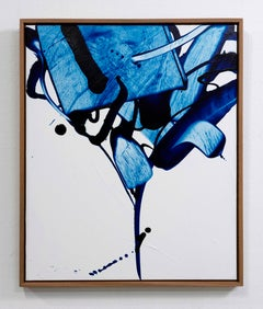 Rule of the Opposite 61, Choi, Abstract Expressionist, Contemporary Oil Painting