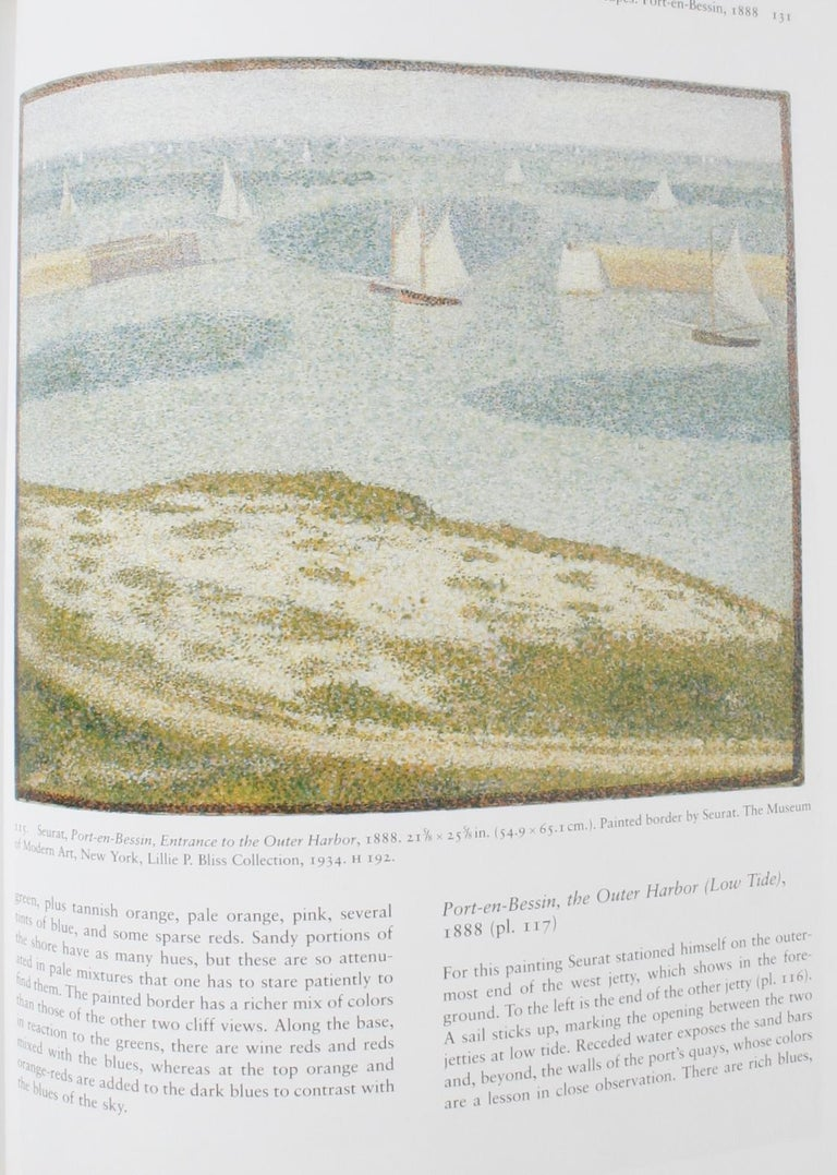 Seurat, Drawings and Paintings by Robert L. Herbert, First Edition For Sale 9