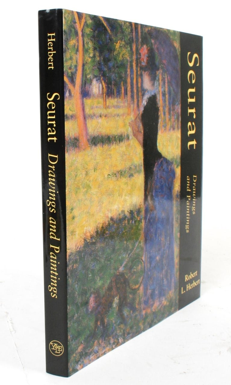 Seurat, Drawings and Paintings by Robert L. Herbert, First Edition For Sale 12