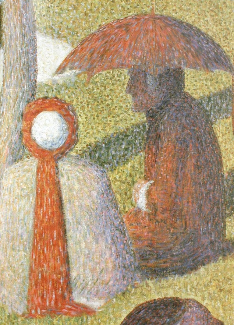 Seurat, Drawings and Paintings by Robert L. Herbert, First Edition In Excellent Condition For Sale In Kinderhook, NY