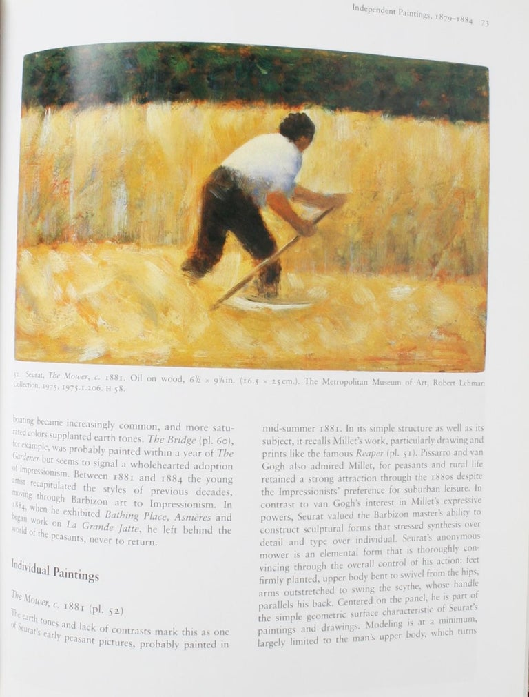Contemporary Seurat, Drawings and Paintings by Robert L. Herbert, First Edition For Sale