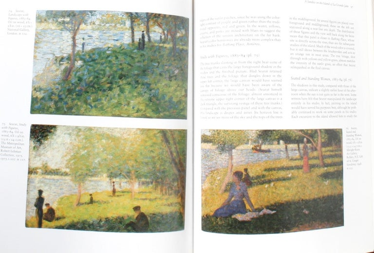 Paper Seurat, Drawings and Paintings by Robert L. Herbert, First Edition For Sale