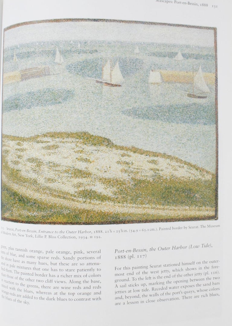 Seurat, Drawings and Paintings by Robert L. Herbert, First Edition For Sale 3