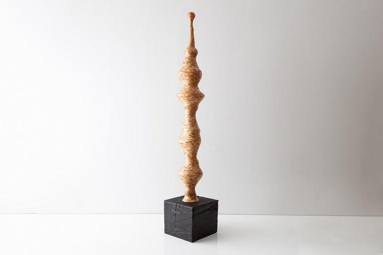 Seuss, Zeitgenössische Unregelmäßig Geformte Ahorn Skulptur von Richard Haining, auf Lager 4