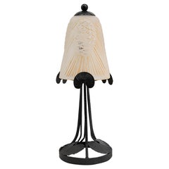 SEVB French Art Deco Table Lamp, 1920s