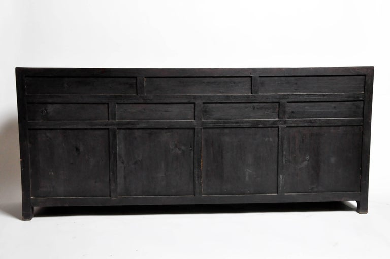 This Handsome Sideboard Is From I China And Was Made Reclaimed Elm Wood