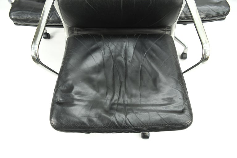 20th Century Seven Herman Miller Soft Pad Office Chairs For Sale
