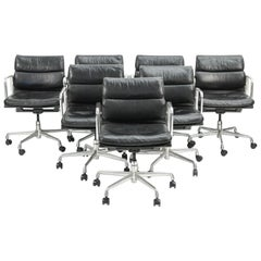 Seven Herman Miller Soft Pad Office Chairs