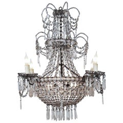 Seven-Light Crystal Chandelier