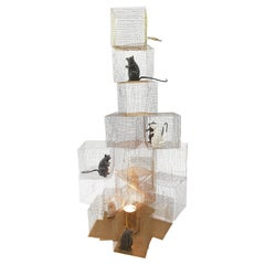 """Seven Rats"" Lamp by Ingo Maurer, 2007"