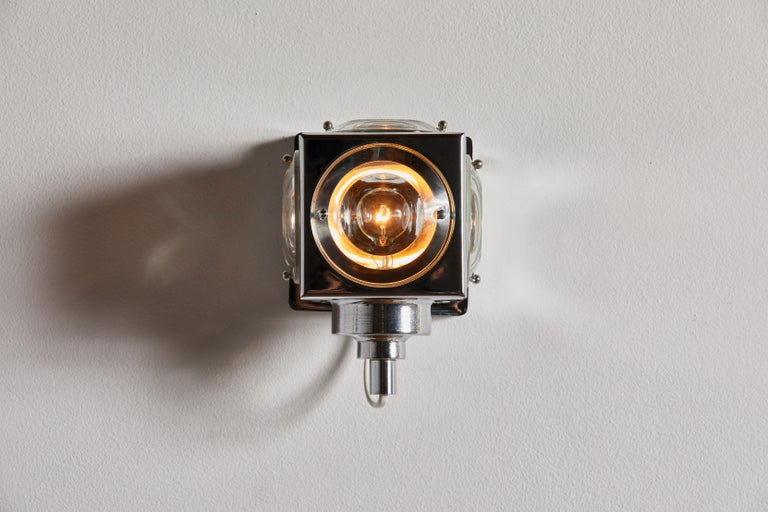 Seven Sconces by Oscar Torlasco for Stilkronen In Good Condition For Sale In Los Angeles, CA